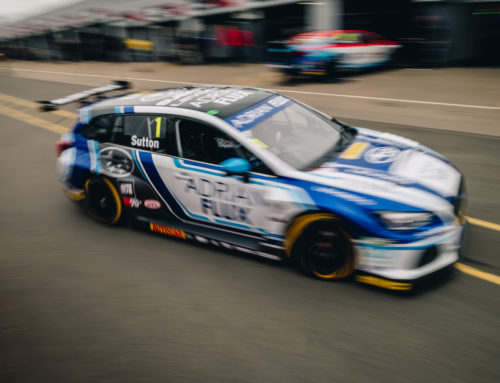 2018 Adrian Flux Subaru Racing